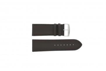 Cinturino dell'orologio 306.02 Pelle Marrone 32mm + cuciture di default