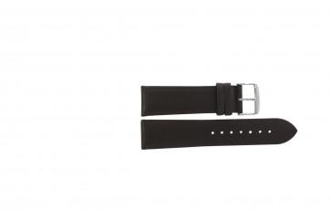 Cinturino orologio in vera pelle, marrone scuro, 20mm PVK-283