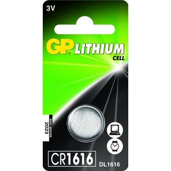 Pila a bottone GP CR1616