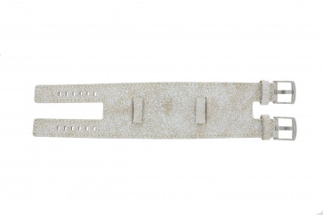 EXC cinturino orologio K6354264 Pelle Bianco 24mm