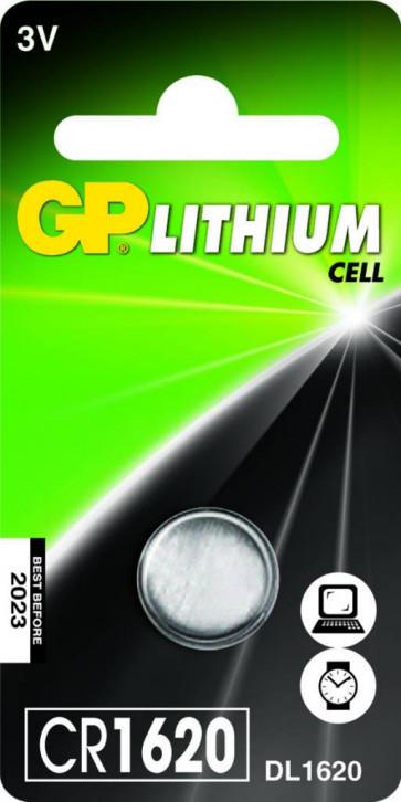 Pila a bottone GP CR1620