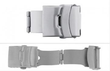 Dispositivo di chiusura SL661 adatto ai cinturini in pelle di 12, 14, 16, 18, 20, 22mm