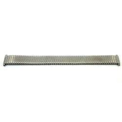Cinturino dell'orologio V53F Metallo Argento 18mm