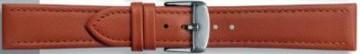 Cinturino orologio in vera pelle, marrone cognac, 24mm PVK-283