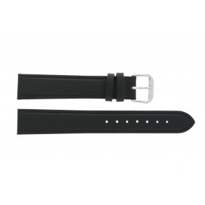 Cinturino orologio in vera pelle, nero, 14mm PVK-054 xl