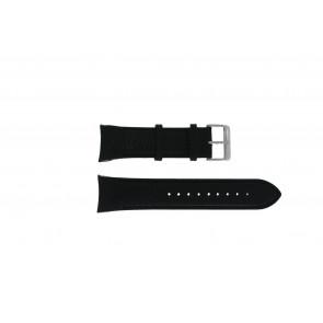 Swiss Military Hanowa cinturino dell'orologio 06-4278.04.001.07 Pelle Nero + cuciture nero
