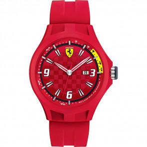Ferrari cinturino dell'orologio 0830007 / SF689300005 / Scuderia Gomma Rosso 22mm