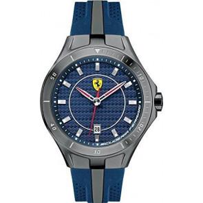Ferrari cinturino dell'orologio SF103.7 / 0830081 / SF689300057 / Scuderia Gomma Blu 22mm
