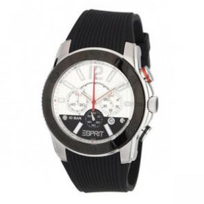 Esprit cinturino dell'orologio ES101681006 Gomma Nero 22mm