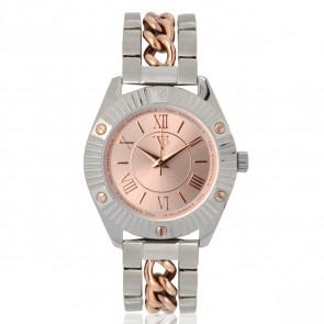 TOV Essentials cinturino dell'orologio 1464 / TOV Metallo Bi-colore 18mm