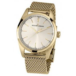 Jacques Lemans cinturino dell'orologio 1559C Metallo Placcato oro 20mm