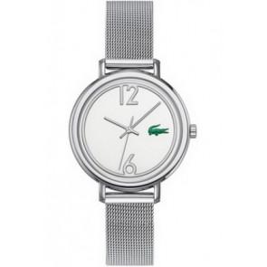 Lacoste cinturino dell'orologio 2000538 / LC-33-3-14-2200 Metallo Argento 14mm