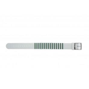 Lacoste cinturino dell'orologio 2000892 / LC-84-3-14-2596 Silicone Verde 18mm