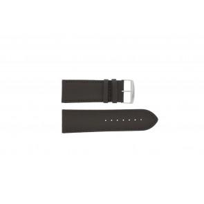Cinturino dell'orologio 306.02 Pelle Marrone 26mm + cuciture di default
