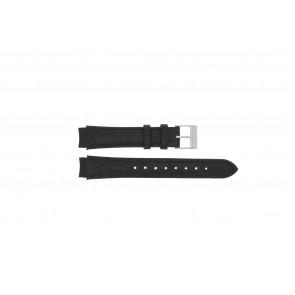 Prisma cinturino dell'orologio 33 832 117 Pelle Nero 14mm + cuciture nero