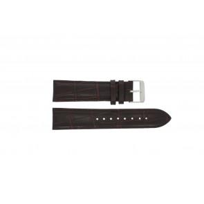Prisma cinturino dell'orologio 33C631012 Pelle Marrone 22mm + cuciture marrone