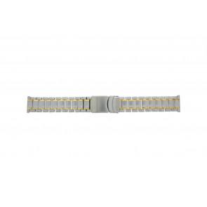 Other brand cinturino dell'orologio Pebro 447-20 Metallo Bi-colore 20mm