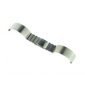 Cinturino dell'orologio Spange 16ST Metallo Argento 16mm