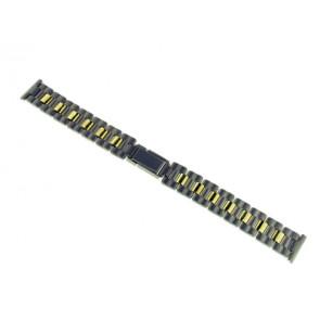 Cinturino dell'orologio 72621 Titanio Argento 16mm