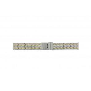 Other brand cinturino dell'orologio Pebro 928-20 Metallo Bi-colore 20mm