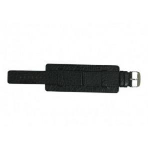 Davis cinturino orologio B0220 Pelle Nero 22mm
