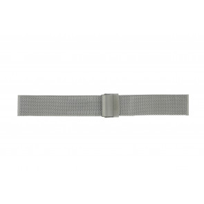 Morellato cinturino dell'orologio BE22.0112 Metallo Argento 20mm