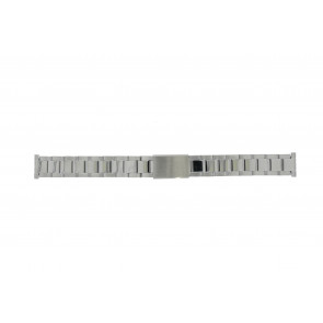 Morellato cinturino dell'orologio BE22.0486 Metallo Argento 16mm