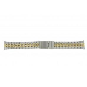 Morellato cinturino dell'orologio BE24.0459 Metallo Bi-colore 20mm