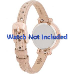 Fossil cinturino dell'orologio ES3139 Pelle Salito 8mm