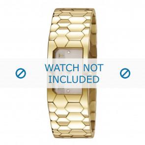 Esprit cinturino dell'orologio ES107882-002 Metallo Oro