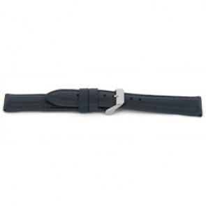 Cinturino dell'orologio G081 XL  Pelle Grigio 20mm + cuciture grigio