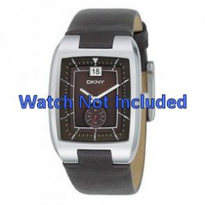 DKNY cinturino orologio NY1319 Pelle Marrone 20mm