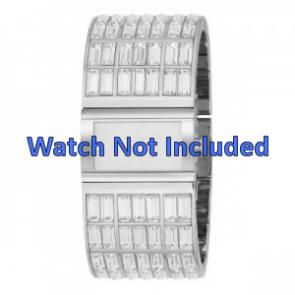 DKNY cinturino orologio NY-3768 Acciaio Argento 20mm
