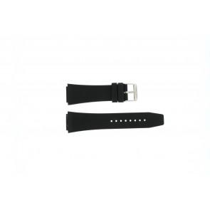 Danish Design cinturino dell'orologio IQ14Q685 Gomma Nero 19mm