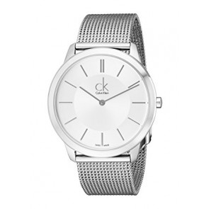 Cinturino per orologio Calvin Klein K3M221 / K605000134 Acciaio Acciaio inossidabile