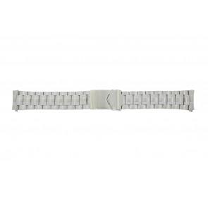 Calypso cinturino dell'orologio K5112 / K5118 Metallo Argento 20mm