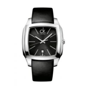Calvin Klein cinturino dell'orologio K600.000.095 Pelle Nero 20mm