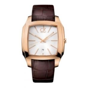 Calvin Klein cinturino dell'orologio K600.000.095 Pelle Marrone 20mm