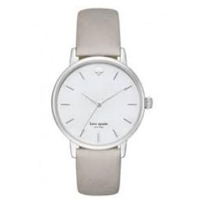 Kate Spade New York cinturino dell'orologio KSW1141 / METRO Pelle Grigio