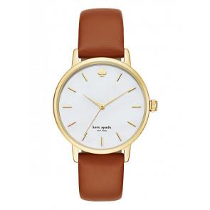 Kate Spade New York cinturino dell'orologio KSW1142 / METRO Pelle Marrone