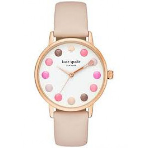 Kate Spade New York cinturino dell'orologio KSW1253 / METRO Pelle Rosa