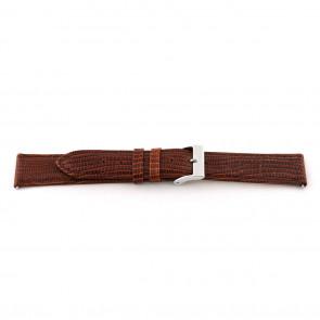 Cinturino orologio in vera pelle, marrone cognac, 14mm EX-G62