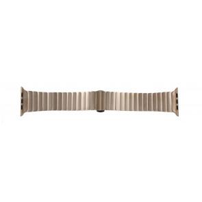 Apple (replacement model) cinturino orologio LS-AB-107 Acciaio Oro (Rosé) 42mm