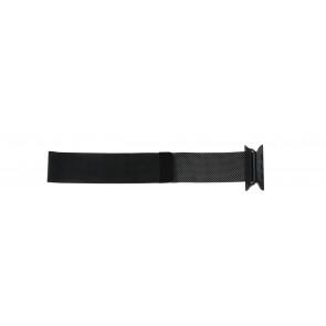 Apple (replacement model) cinturino orologio LS.AB.108 Acciaio Nero 42mm