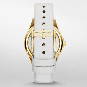 Marc by Marc Jacobs cinturino dell'orologio MBM1339 Pelle Bianco 16mm