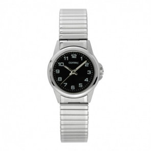 Olympic cinturino dell'orologio OL26DSS107 Metallo Argento 15mm