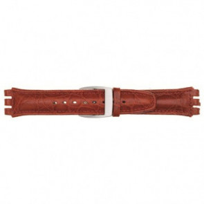Cinturino orologio per Swatch, rosso, 19mm 07M