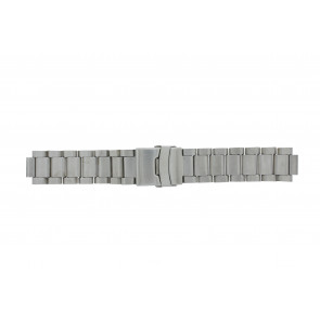 Q&Q cinturino dell'orologio QQ13ST-ZI-ST Metallo Argento 13mm