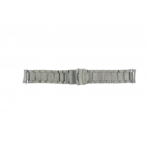 Cinturino dell'orologio QQ22RHZIL Metallo Argento 22mm