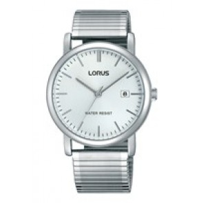Lorus cinturino dell'orologio RG855CX9 / VJ32 X246 / RHA042X Metallo Argento 19mm